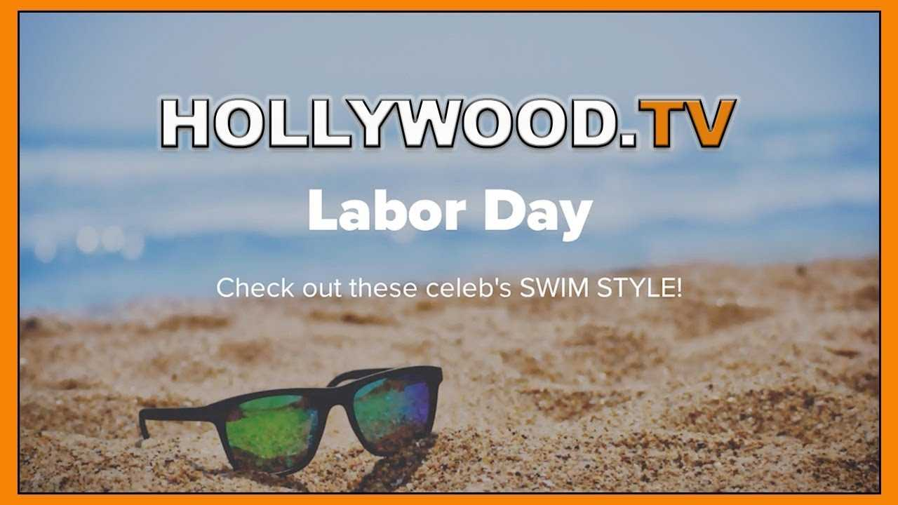 Labor Day 2018 swim suit inspirations - Hollywood TV