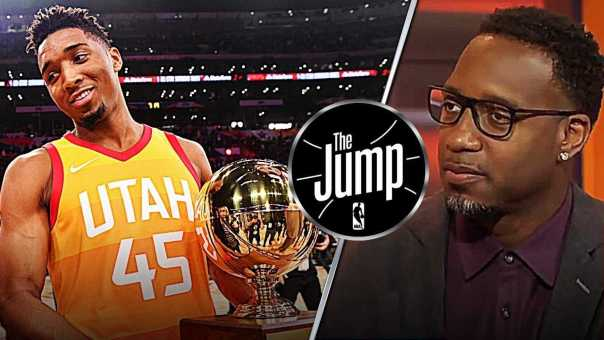 McGrady Says Donovan Mitchell is NO DEBATE Rookie Of The Year! | The Jump