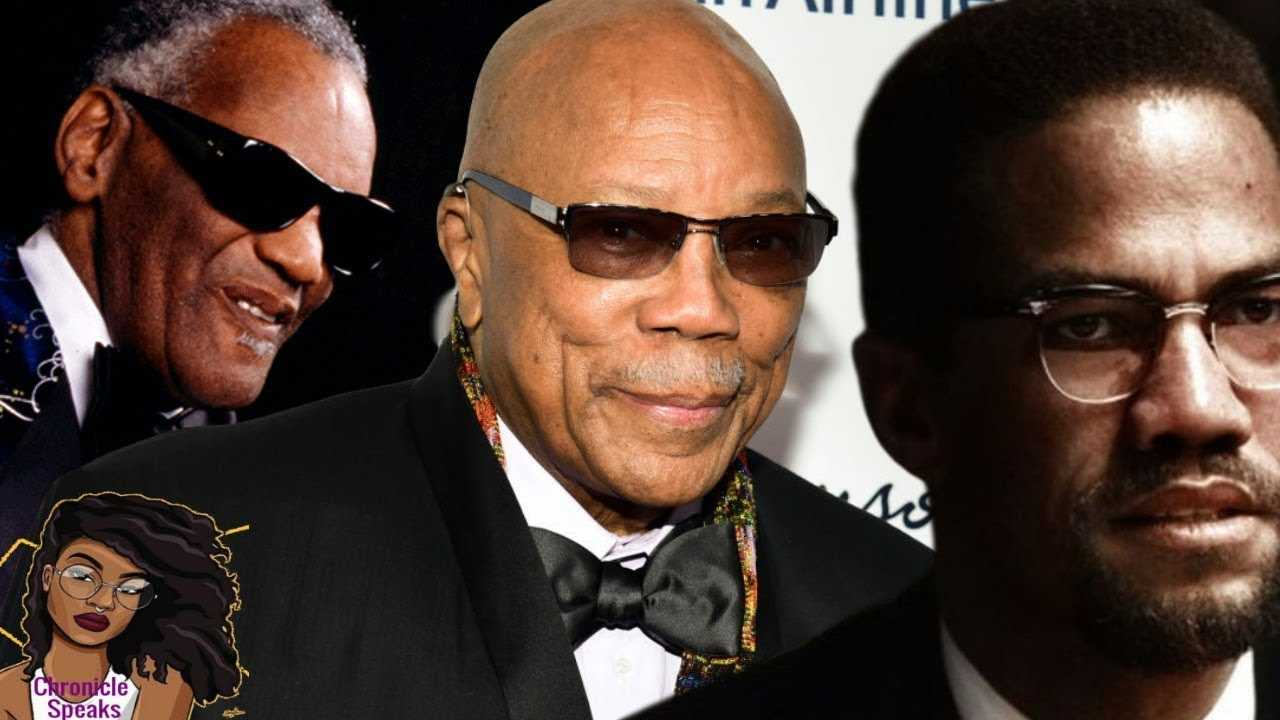 Quincy Jones Startling Revelation About Ray Charles & Malcom X