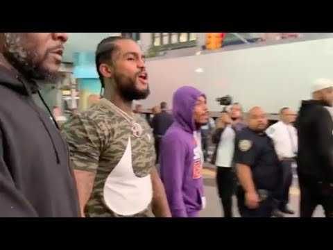 Rapper Dave East Mobbed In Harlem NYC!