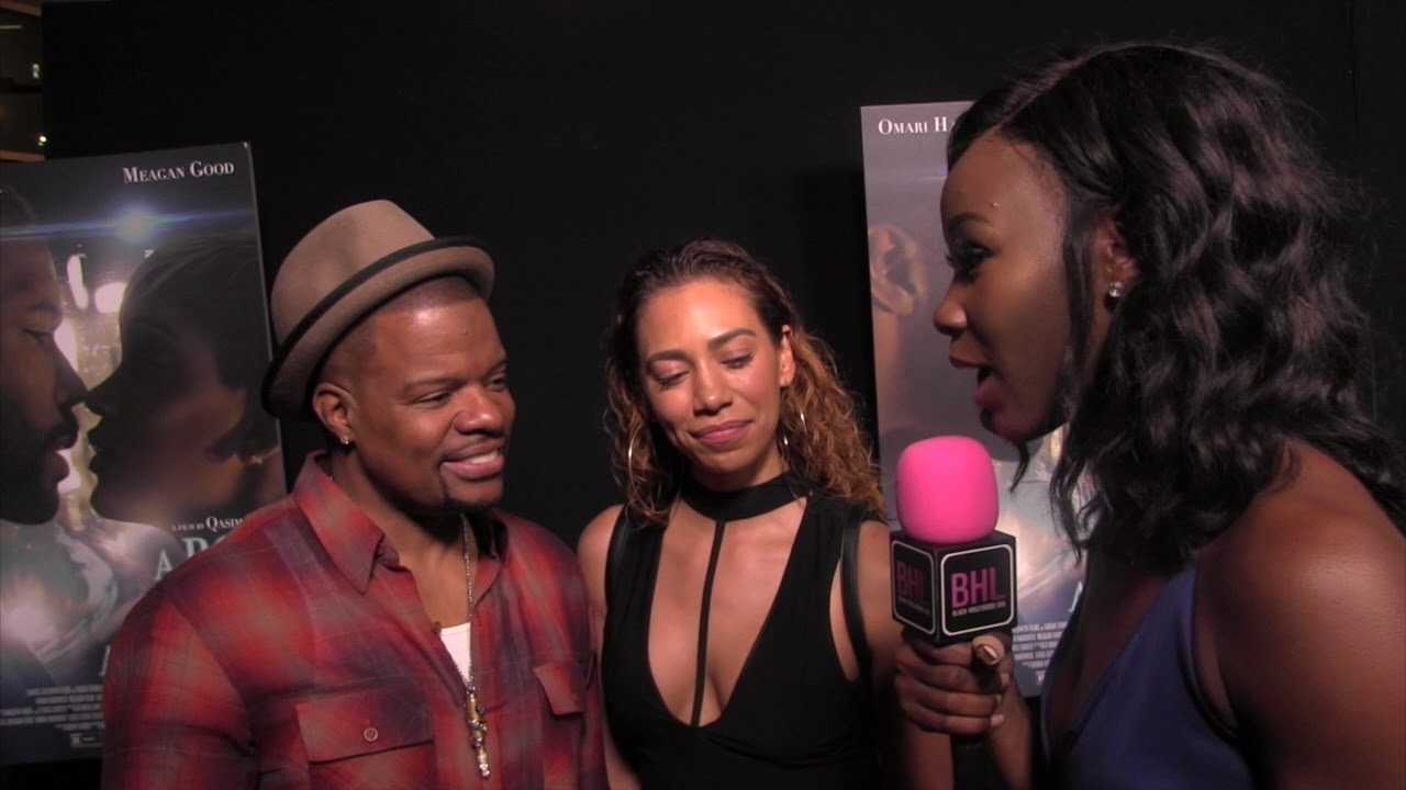 Ricky Bell talks learning more about Bobby Brown at the Premiere of A boy A Girl A Dream
