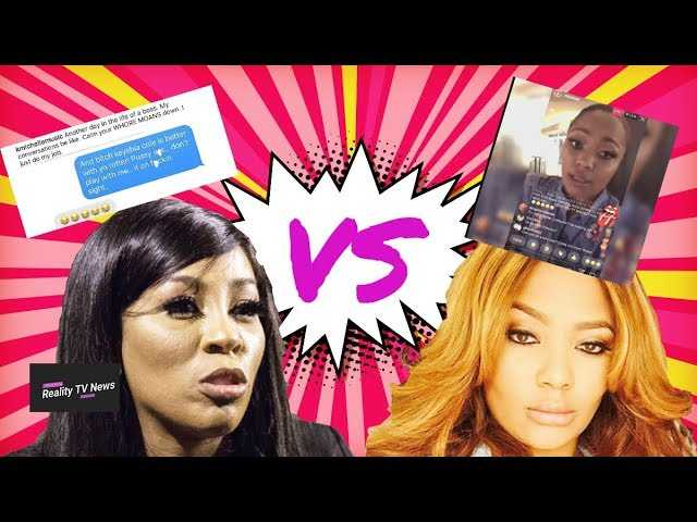 Teairra Mari SLAMS K. Michelle On IG Live For Comparing Her S3xtape To Mimi Faust