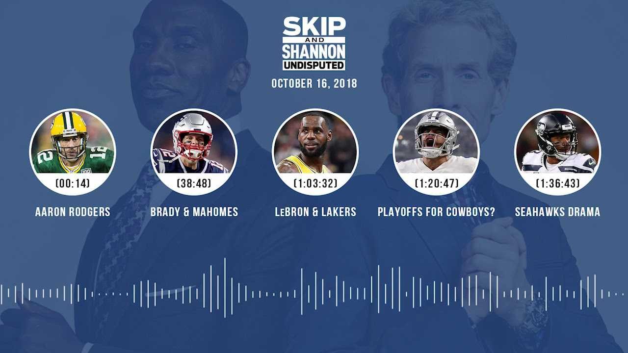 UNDISPUTED Audio Podcast (10.16.18) with Skip Bayless, Shannon Sharpe & Jenny Taft | UNDISPUTED
