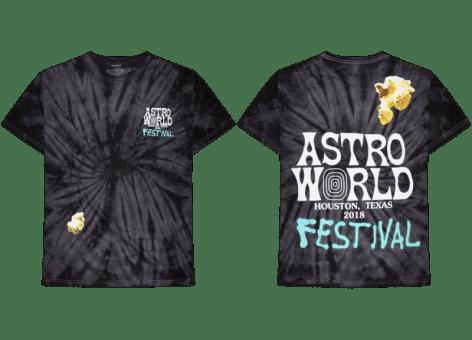 Travis Scott Releases ASTROWORLD Festival Merch for 12 Hours