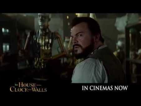 What happens when the clock stops ticking? #HouseWithAClock