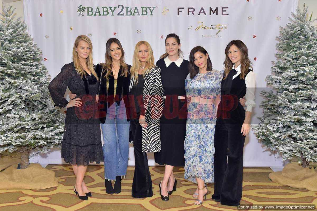 JESSICA ALBA, JENNA DEWAN, MICHELLE MONAGHAN AND MORE ATTEND THE BABY2BABY HOLIDAY PARTY PRESENTED BY FRAME [PHOTOS]