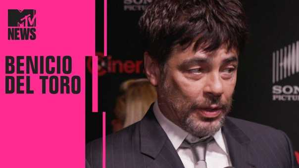 Benicio del Toro on 'Sicario: Day of the Soldado' | CinemaCon | MTV News