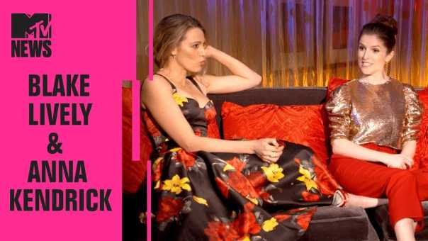 Blake Lively & Anna Kendrick Play 'ID the Tweet' | CinemaCon | MTV News