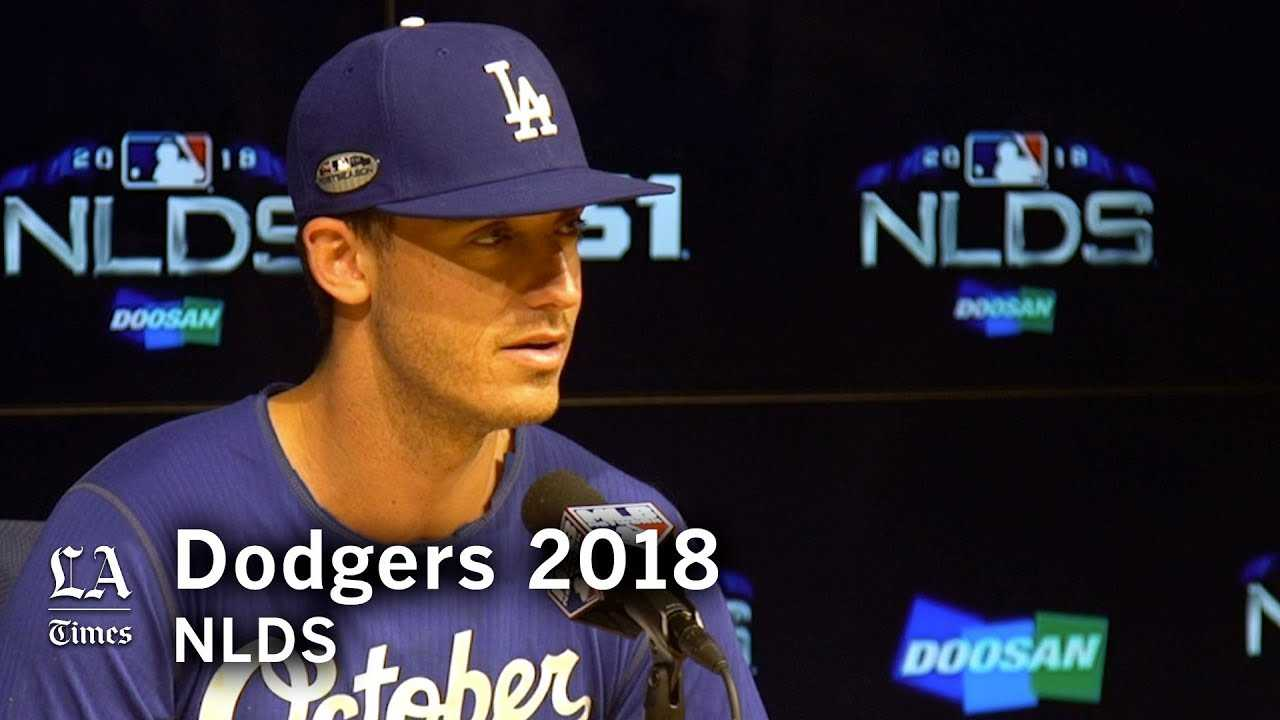 Dodgers NLDS 2018: Cody Bellinger talks about NLDS Game 1 preparation