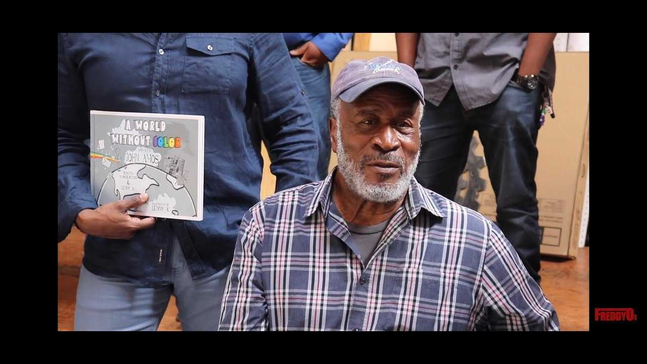"""Good Times Dad 'John Amos' Talks New Book """"A World Without Color"""""""