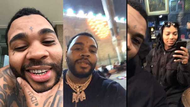 Kevin Gates Suspects He's Being Monitored