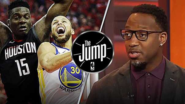 McGrady Praises Rockets Defense on Stephen Curry | The Jump