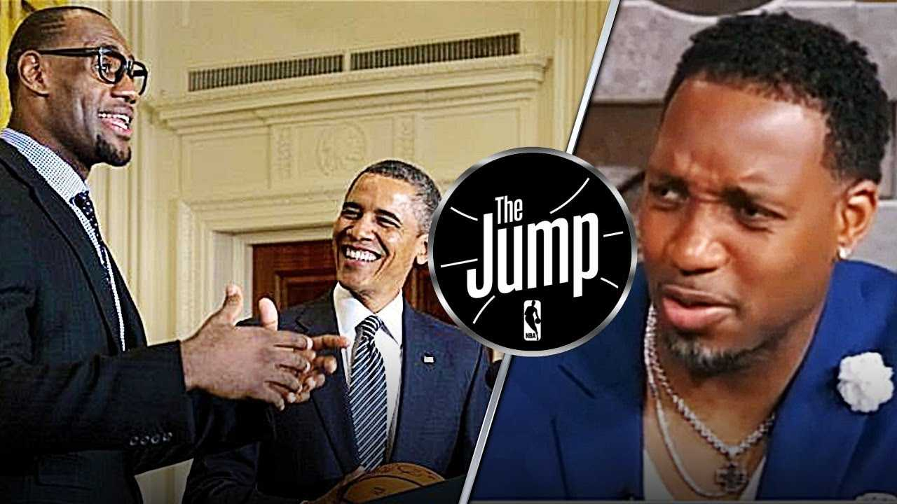 McGrady Says LeBron Is Better Than Jordan At Voicing His Opinions | The Jump
