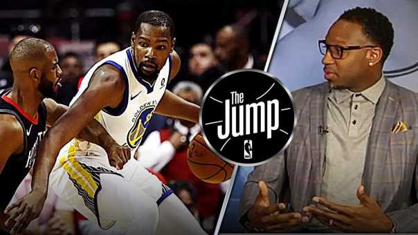 """McGrady: """"There is nothing can Rockets do to stop Kevin Durant""""   The Jump"""