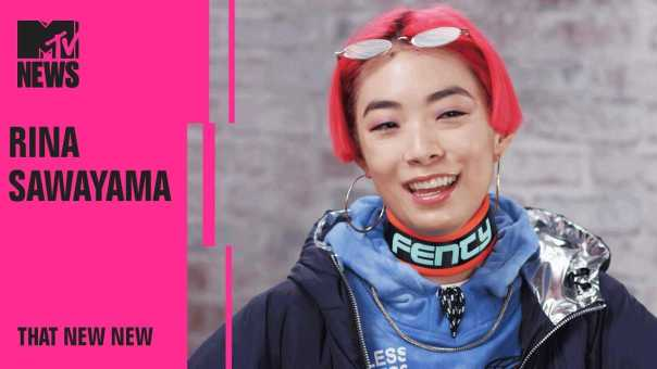 Rina Sawayama Defines Her Musical Style on the Internet & Technology📱 | THAT NEW NEW | MTV News