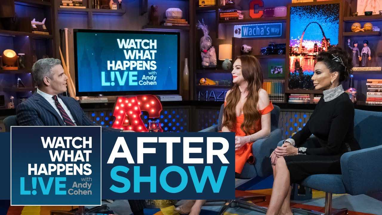 After Show: Lindsay Lohan On Kris Jenner's 'Thank U, Next' Cameo | WWHL