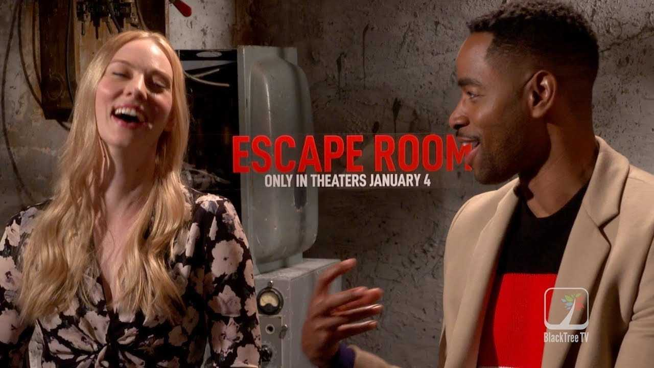 Escape Room: Stars Jay Ellis and Deborah Ann Woll on Making this Thriller
