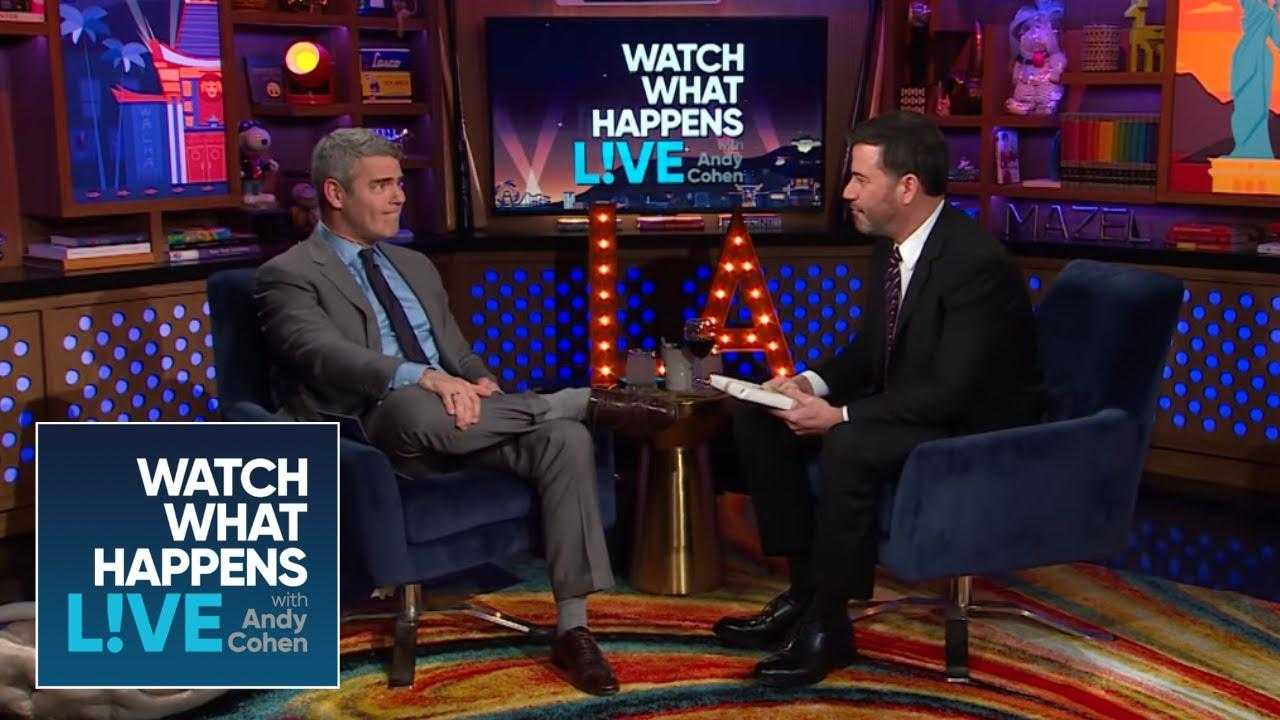 Jimmy Kimmel's Baby Gift For Andy Cohen Involves Stormy Daniels | WWHL