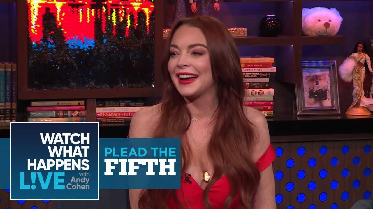 Lindsay Lohan Says She And Kim Kardashian Are Good | Plead The Fifth | WWHL