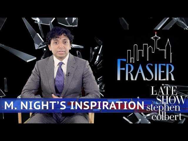 M. Night Shyamalan Breaks Down 'Frasier'