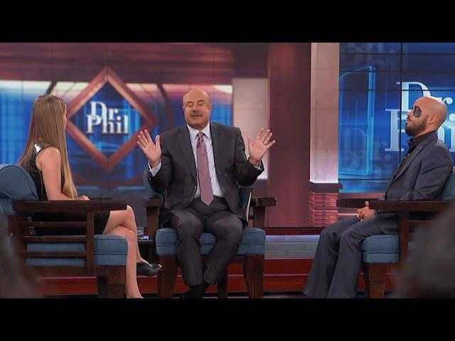 See What Happens When Dr. Phil Offers Help To Man Who Says He's A Superhero And Wears Mask