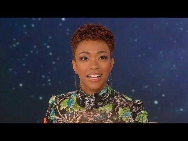 The Talk - 'Star Trek' Commander and Spock Rumors 'Not true' Says Sonequa Martin-Green