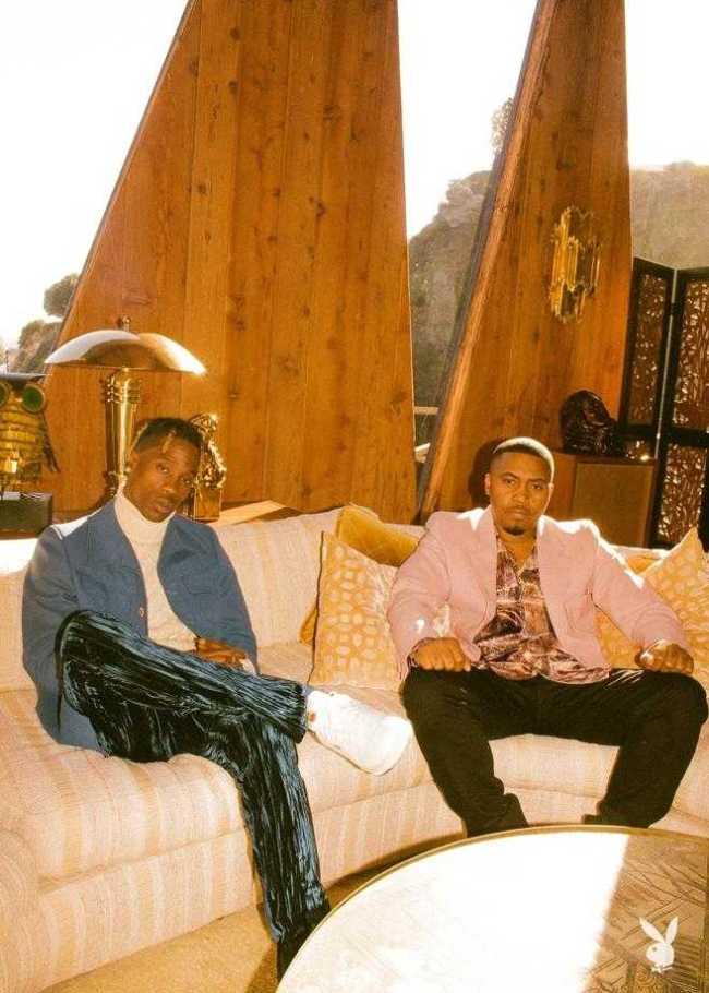 Travis Scott and Nas