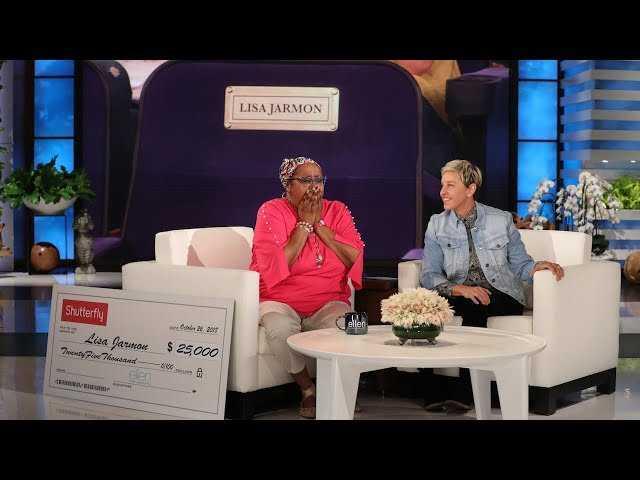 Ellen Pays Tribute to Beloved Guest Lisa Jarmon - EXTENDED VERSION