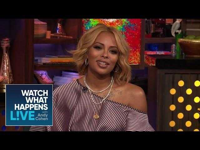 Eva Marcille And Shannon Beador's Chat At Andy Cohen's Shower | RHOA And RHOC | WWHL