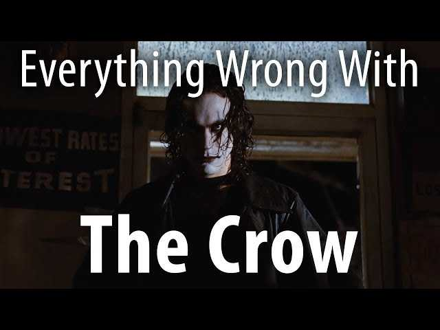 Everything Wrong with The Crow In 15 MInutes Or Less