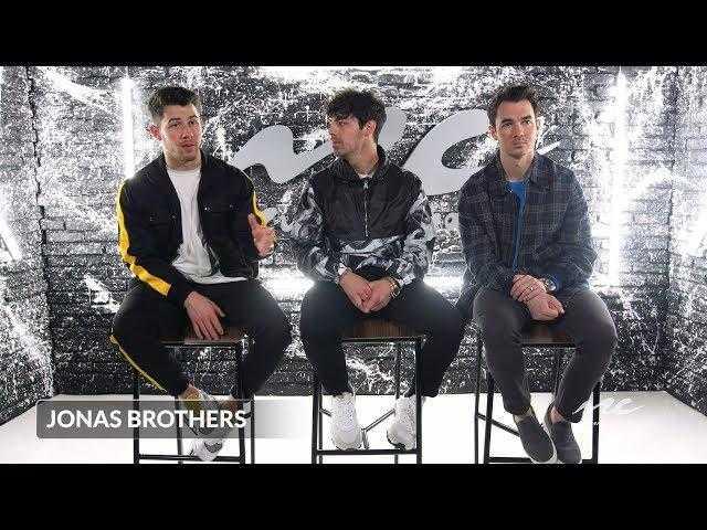 "Jonas Brothers on Reuniting and Creating ""Sucker"""