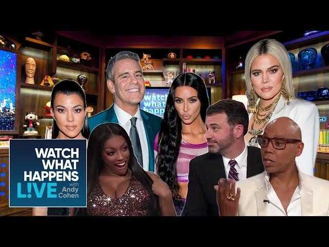 The Kardashians, RuPaul, Jimmy Kimmel, and More Celebs Give Andy Cohen Parenting Advice | WWHL