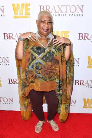 "WEST HOLLYWOOD, CALIFORNIA - APRIL 02: Luenell is seen as We TV celebrates the premiere of ""Braxton Family Values"" at Doheny Room on April 02, 2019 in West Hollywood, California. (Photo by Earl Gibson III/Getty Images for WE tv )"