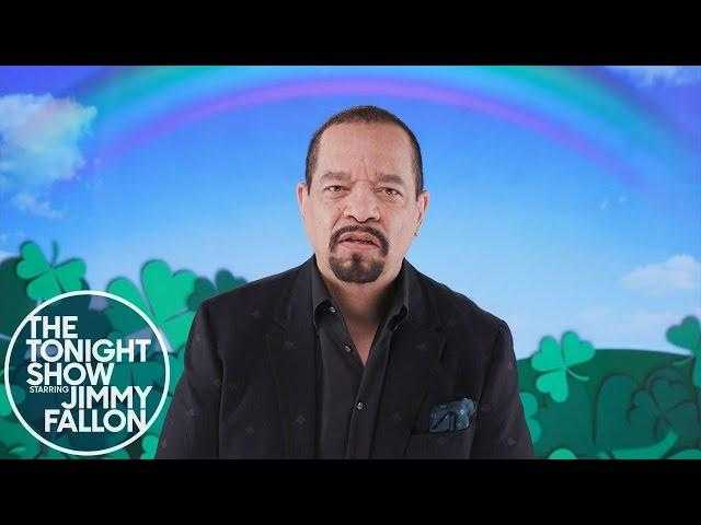 A St. Patrick's Day Safety Message from Ice T
