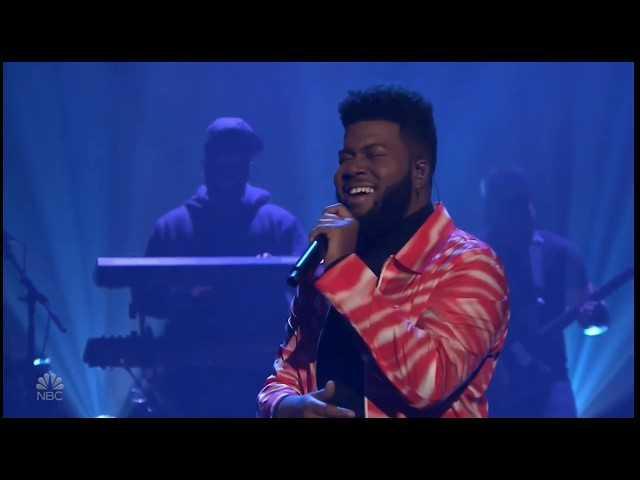 Khalid – Talk Live on The Tonight Show Starring Jimmy Fallon