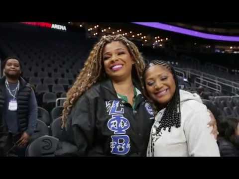 Sister Cam: Sister Circle's Syleena Johnson Sings the National Anthem at the Atlanta Hawks Game