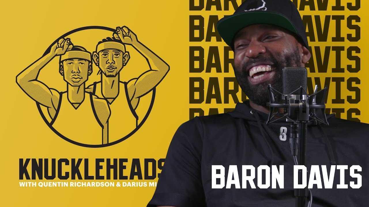 Baron Davis joins Knuckleheads with Quentin Richardson & Darius Miles