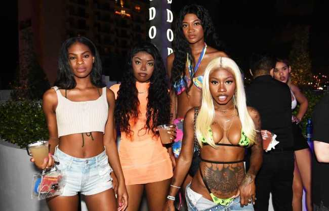 Kash Doll, Coi Leray, Uno The Activist, Trippie Redd, J.I.D. and More Attend Republic Records 2019 Rolling Loud Event on South Beach