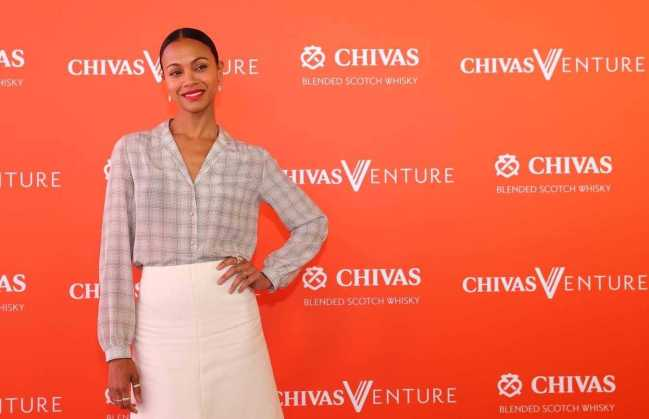 AVENGERS STAR ZOE SALDANA SUPPORTS SOCIAL STARTUPS AT FINAL OF CHIVAS VENTURE [PHOTOS]