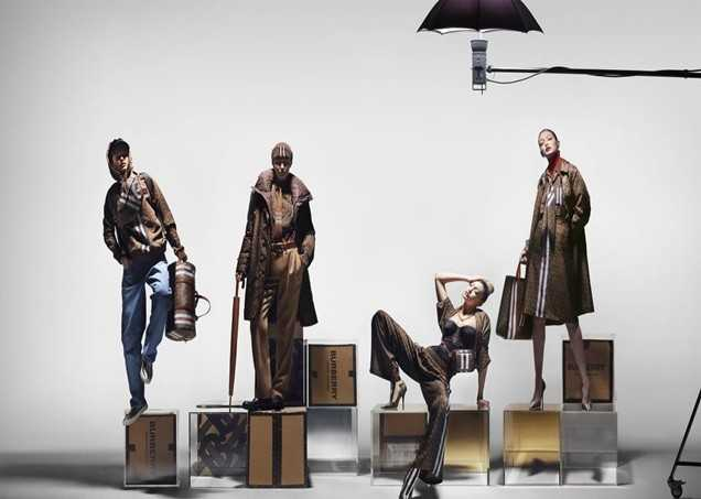 Burberry Launches Campaign with Gigi Hadid [Fashion]