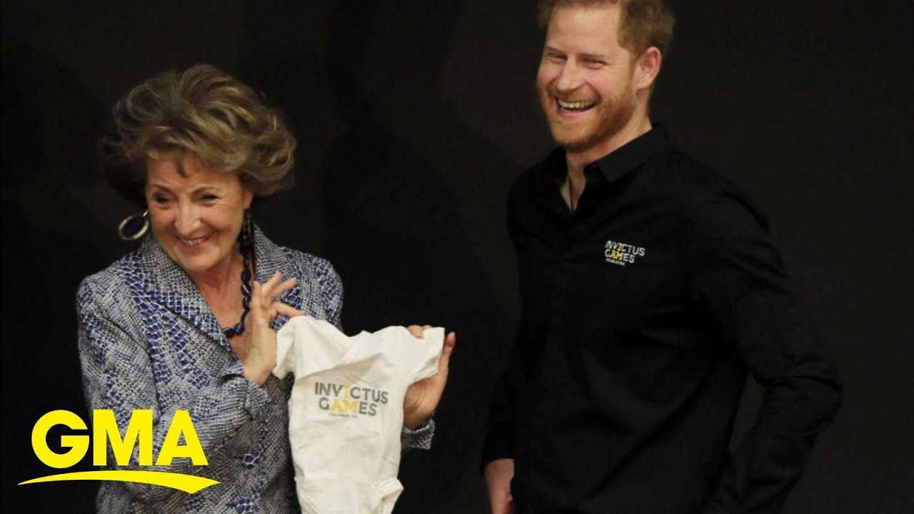 New dad Prince Harry heads to the Invictus Games | GMA