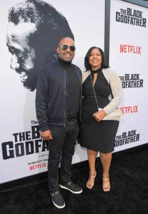 """LOS ANGELES, CALIFORNIA - JUNE 03: Steve McKeever attends Netflix world premiere of """"THE BLACK GODFATHER at the Paramount Theater on June 03, 2019 in Los Angeles, California. (Photo by Charley Gallay/Getty Images for Netflix)"""