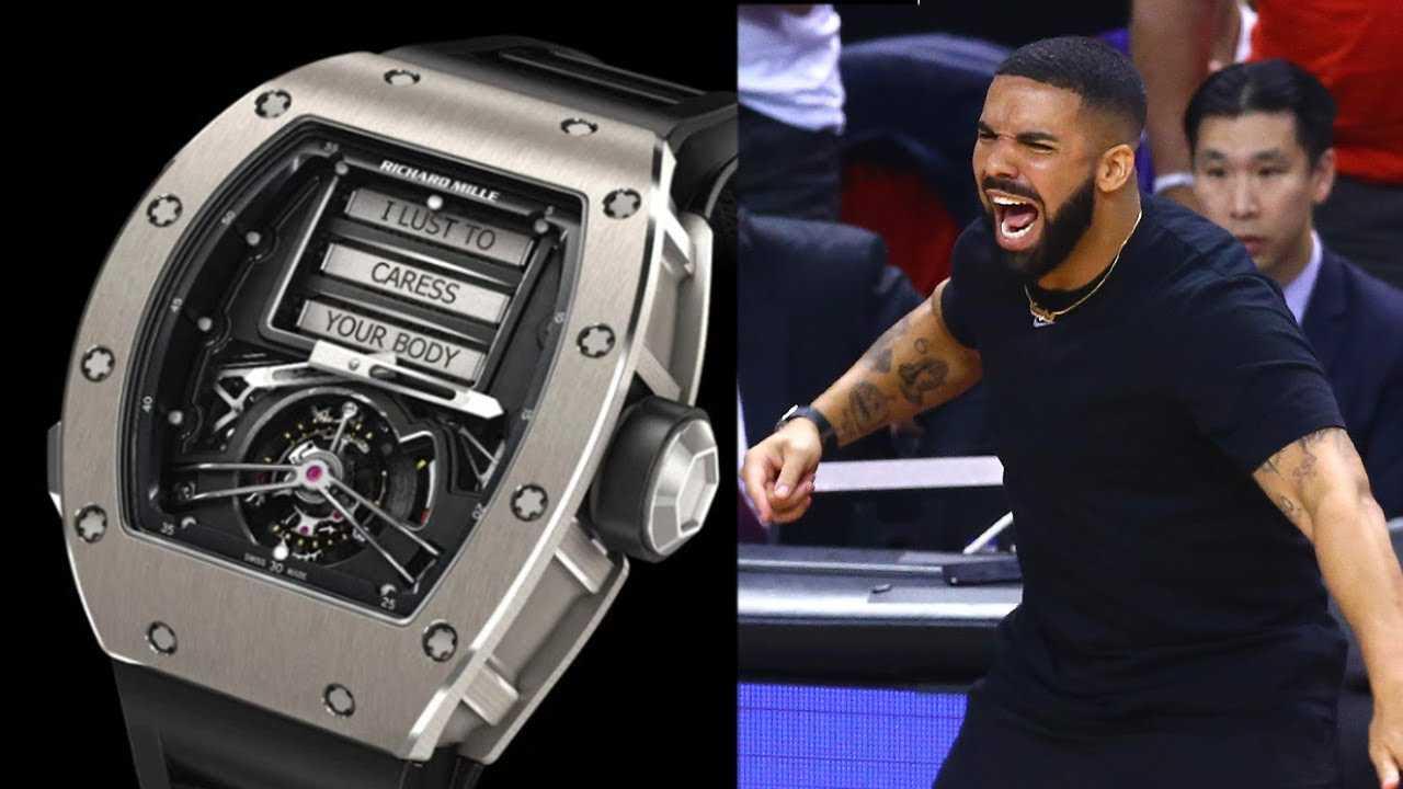 Drake SHOWS OFF $750k SEX WATCH During NBA Finals!