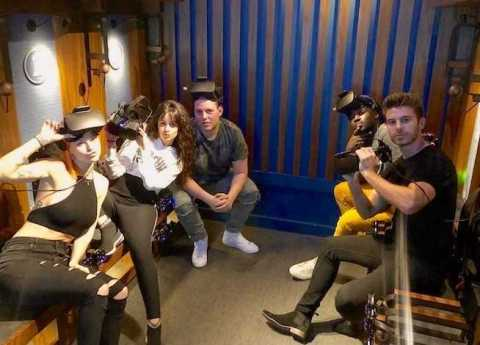 Event Recap: Camila Cabello Celebrates Manager's Birthday at Dreamscape Immersive [Photos]