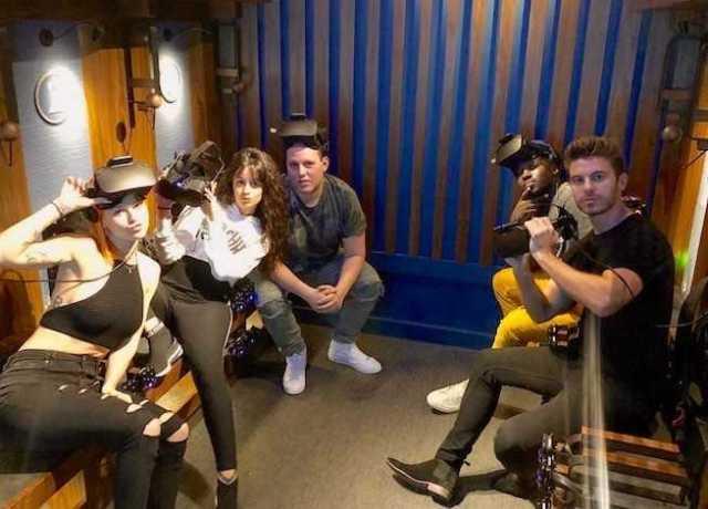 Event Recap: Camila Cabello Celebrates Manager's Birthday at Dreamscape Immersive [Photos]