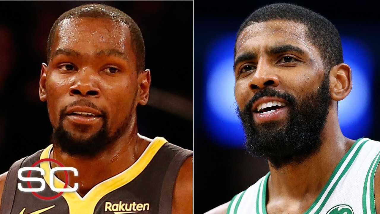 The Nets should pitch KD on a future with Kyrie Irving, young core - Bobby Marks | SportsCenter