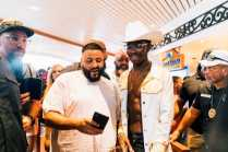 DJ Khaled and Lil Nas X kicking off the weekend with daytime party vibes
