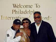 Reuniting for a visit at the legendary Philadelphia International Records headquarters.