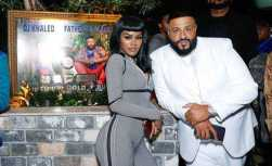 Teyana Taylor and DJ Khaled