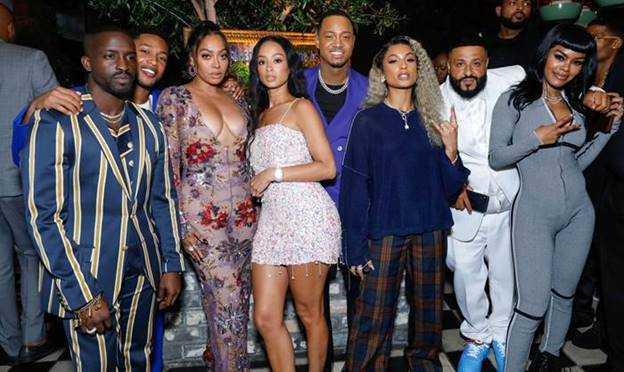 Elijah Kelley, Jacob Latimore, La La Anthony, Draya Michele, Terrence J, DaniLeigh, DJ Khaled and Teyana Taylor